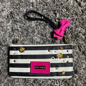 Betsy Johnson clutch handbag